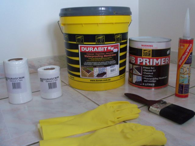 Waterproofing Products Supplies Sydney Wollongong